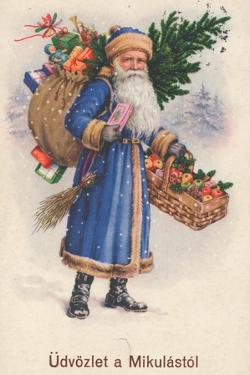 Hungarian Christmas Card