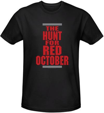Hunt For Red October - Logo (slim fit)