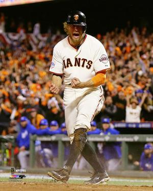 Hunter Pence Game 5 of the 2014 World Series Action