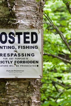 Hunting Fishing Trespassing Stictly Forbidden Photo Print Poster