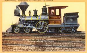 Huntington Locomotive, Sacramento
