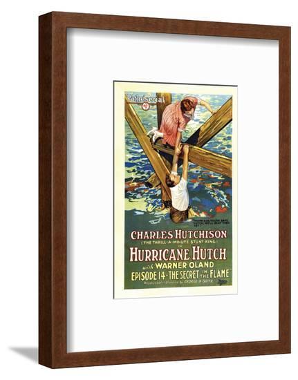 Hurricane Hutch - 1921 II--Framed Giclee Print