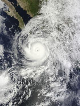 Hurricane Odile Southeast of the Baja California Peninsula