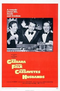 Husbands, Peter Falk, Ben Gazzara, John Cassavetes, 1970
