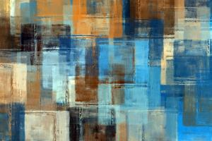 Abstract Painting. Colored Grunge Background by Husjak