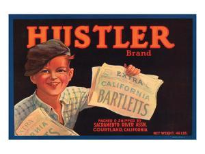 Hustler Brand California Bartletts