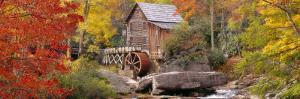 Hut in a Forest, St. Park, Glade Creek Grist Mill Babcock, West Virginia, USA