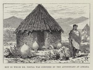 Hut in Which Mr Portal Was Confined by the Abyssinians at Asmara