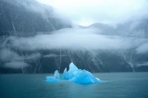 USA, Alaska, Near Juneau, Iceberg seen from Sawyer Glacier by Hutchison