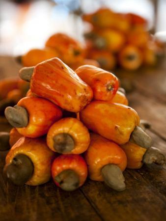 Caju or Cashew Fruit by Huw Jones