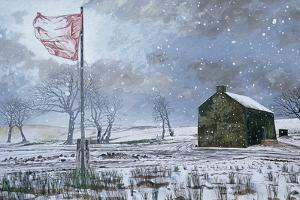 Drover's Arms and the Red Flag, Near Garth, 1992 by Huw S. Parsons