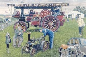 Traction Engines at the Show, 1993 by Huw S. Parsons