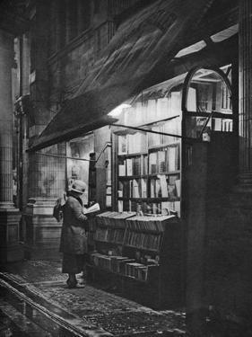 A Bookshop in Bloomsbury, London, 1926-1927 by HW Fincham