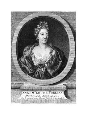 Duchesse Montpensier by Hyacinthe Rigaud