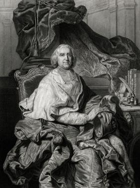 Fleury, Enthroned by Hyacinthe Rigaud