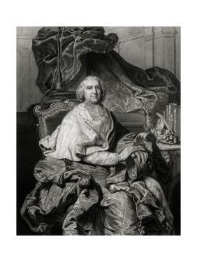 Fleury, Enthroned by Hyacinthe Rigaud