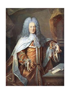 Henry St John Bolingbrok by Hyacinthe Rigaud