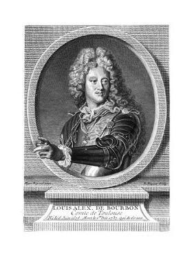 Louis Alex. de Bourbon by Hyacinthe Rigaud