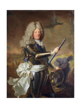 Louis De France by Hyacinthe Rigaud by Hyacinthe Rigaud