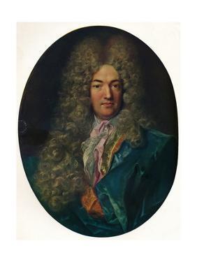 Monsieur Calvet (1659-1743), founder the Ecole des Beaux-Arts, Avignon, (1922) by Hyacinthe Rigaud