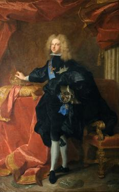 Philip V, King of Spain by Hyacinthe Rigaud