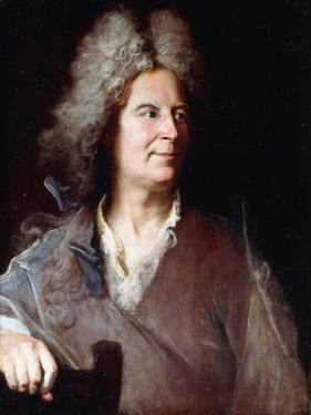 Portrait of a Sculptor, Said to Be Robert Le Lorrain by Hyacinthe Rigaud