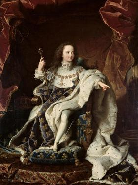 Portrait of Louis XV by Hyacinthe Rigaud