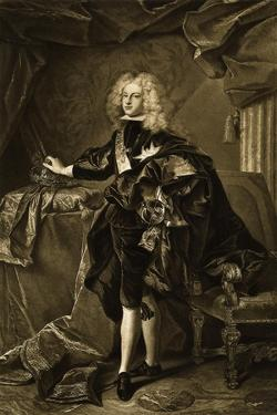Portrait of Philip V, King of Spain by Hyacinthe Rigaud