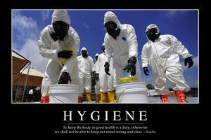 Hygiene: Inspirational Quote and Motivational Poster