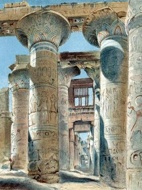 Hypostyle Hall, Temple of Amon-Re, Karnak, Ancient Egypt, 14th-13th Century BC