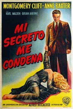I Confess, Argentine Movie Poster, 1953