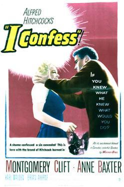 I Confess - Movie Poster Reproduction
