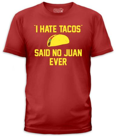 I Hate Tacos (slim fit)