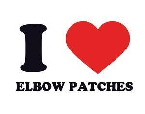 I Heart Elbow Patches