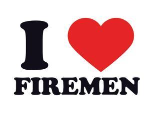 I Heart Firemen