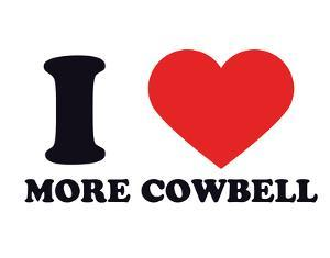 I Heart More Cowbell
