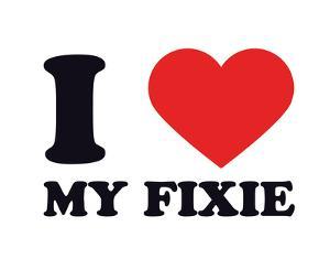 I Heart my Fixie