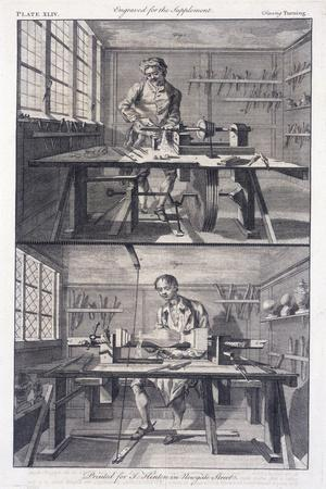 Turning Wood, 1754