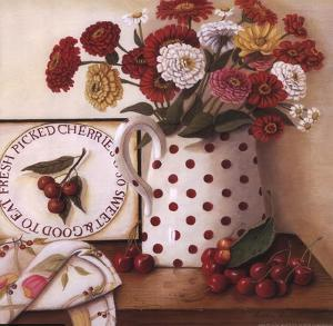 Fresh Picked Cherries by I. Lane