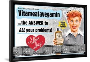 I Love Lucy- Vitameatavegamin