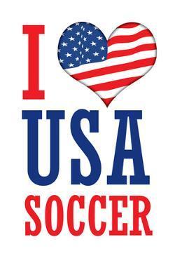 I Love USA Soccer (World Cup) Sports