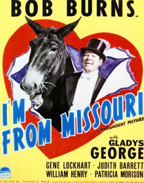 I'm from Missouri - Movie Poster Reproduction