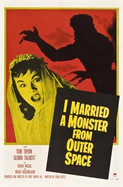 I Married A Monster From Outer Space, Tom Tryon, Gloria Talbott, 1958