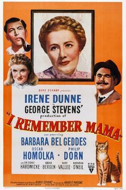 I Remember Mama, Philip Dorn, Barbara Bel Geddes, Irene Dunne, Oskar Homolka, 1948