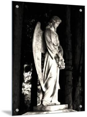Cemetery Statue of Angel by I.W.