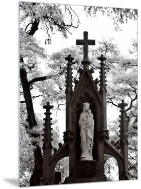 Cemetery Statue by I.W.