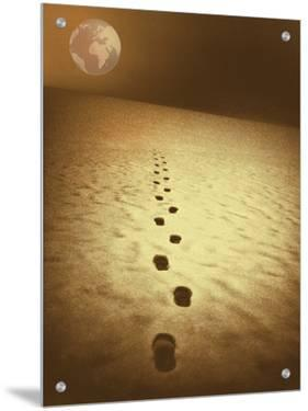 Footprints across the Sands of Time Toward Africa by I.W.