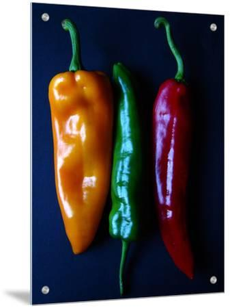 Peppers, Yellow, Green and Red, Side by Side