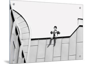 Puppet on a Building, Koln, German by I.W.