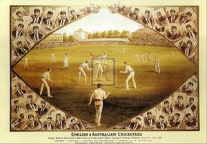 English and Australian Cricketers by I. Weedon